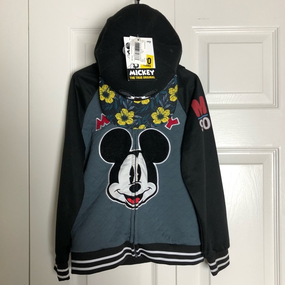 Mickey Mouse 90 Year Anniv Jacket w/ Hood and Hat